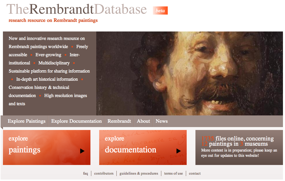 Rembrandt Database