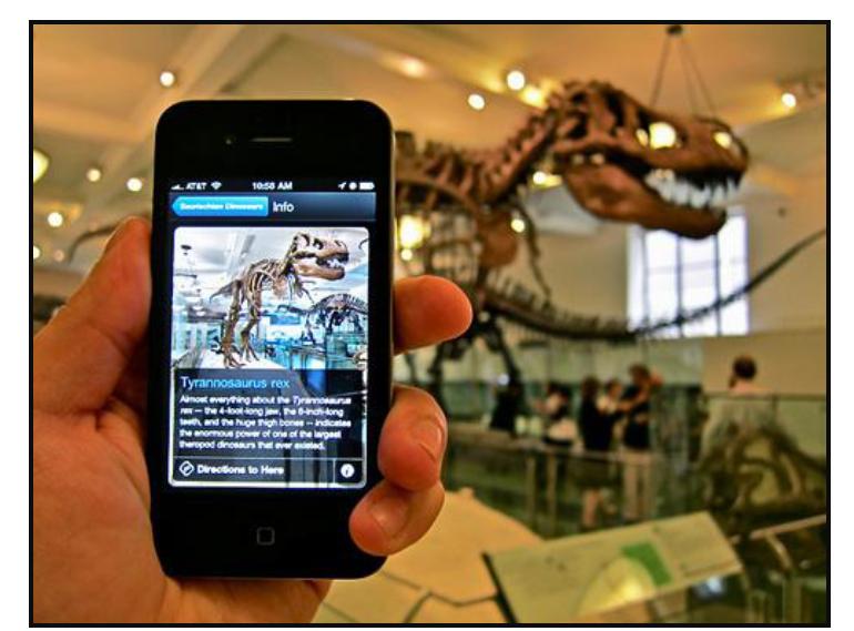 Nieuwe media versus museumteksten