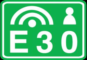 E30-beeldmerk