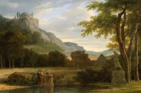 classical-greek-landscape-with-girls-sacrificing-their-hair-to-diana-on-the-bank-of-a-river-by-pierre-henri-de-valenciennes